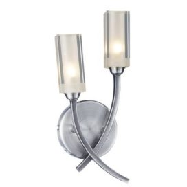 Dar Morgan 2 Light Wall Light